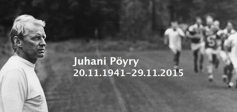 Juhani Pöyry 20.11.1941 - 29.11.2015